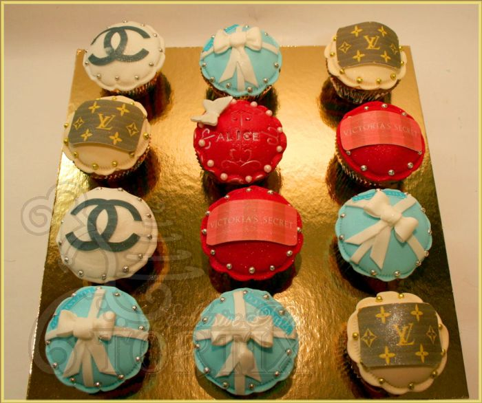 Glamour Cupcakes