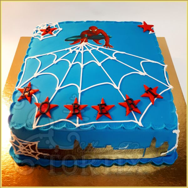 Spidermann Torte
