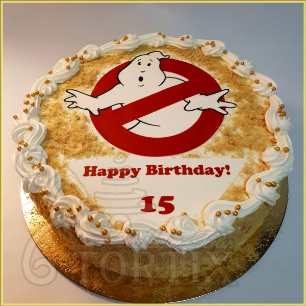 Ghostbusters Torte